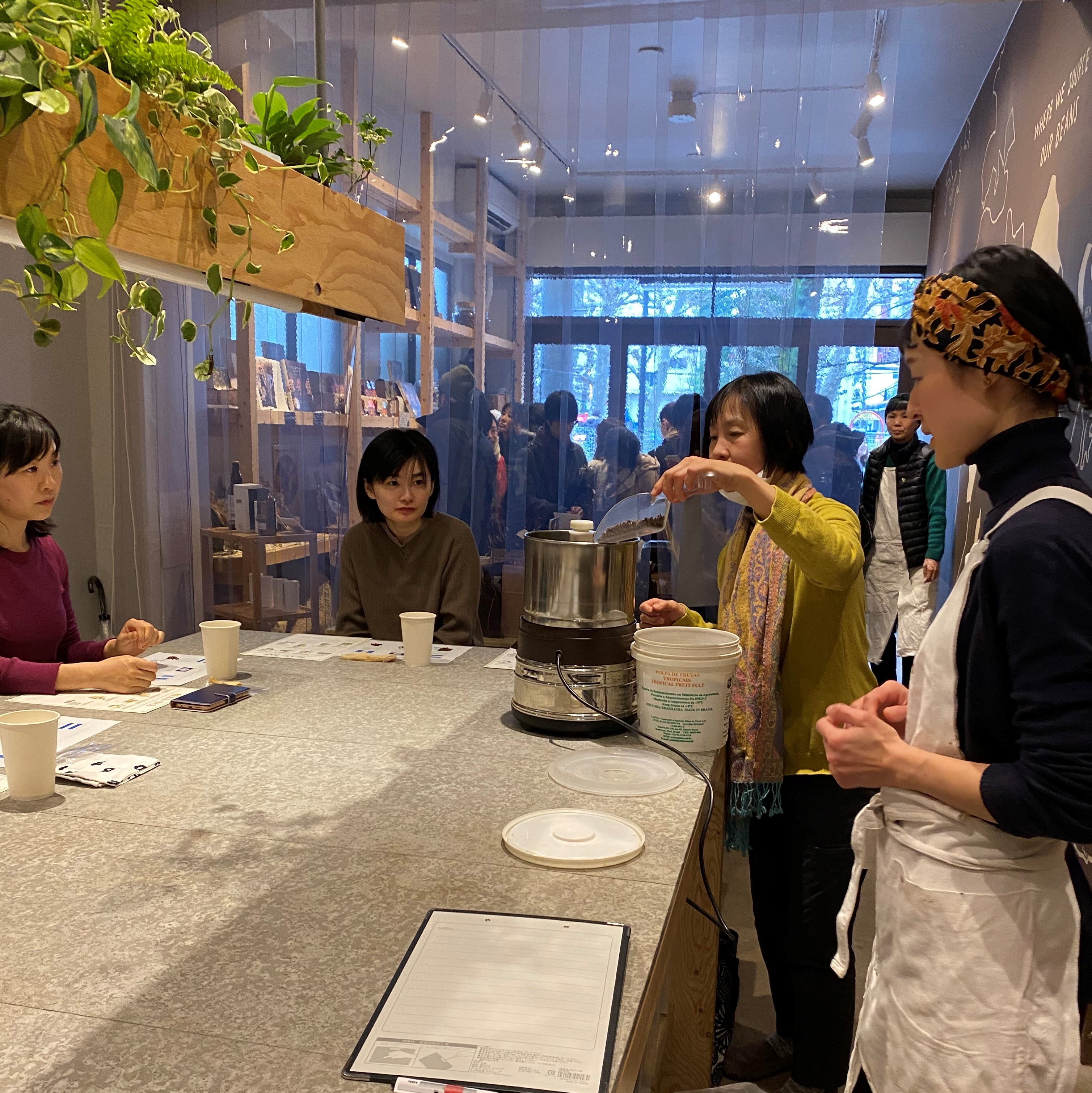La chocolaterie NANAIRO × Dandelion Chocolate Special Workshop